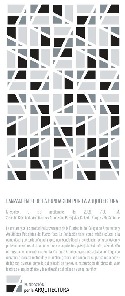 arquillano Lanzamiento de la Fundacion por la Arquitectura