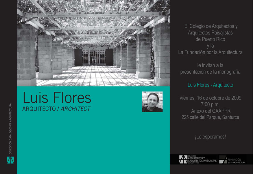 arquillano Presentacion Monografia Luis Flores   Arquitecto