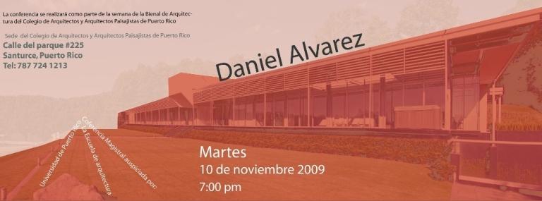 arquillano Conferencia: Daniel Alvarez, Grupo Arquitectura