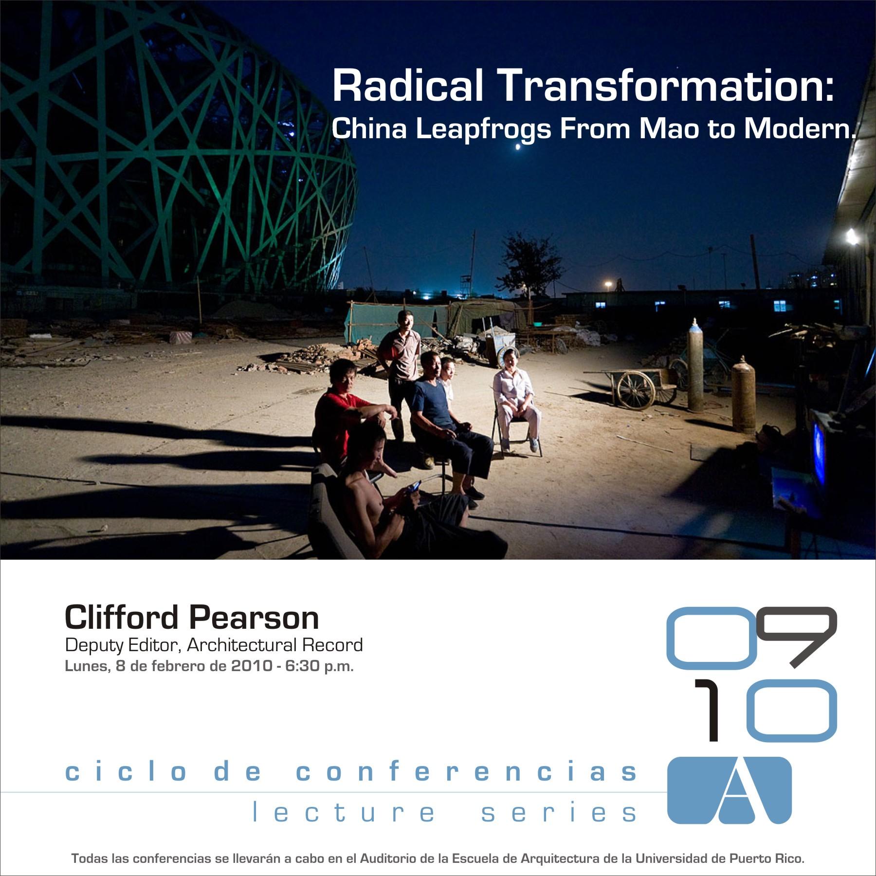 arquillano Conferencia UPR: Clifford Pearson