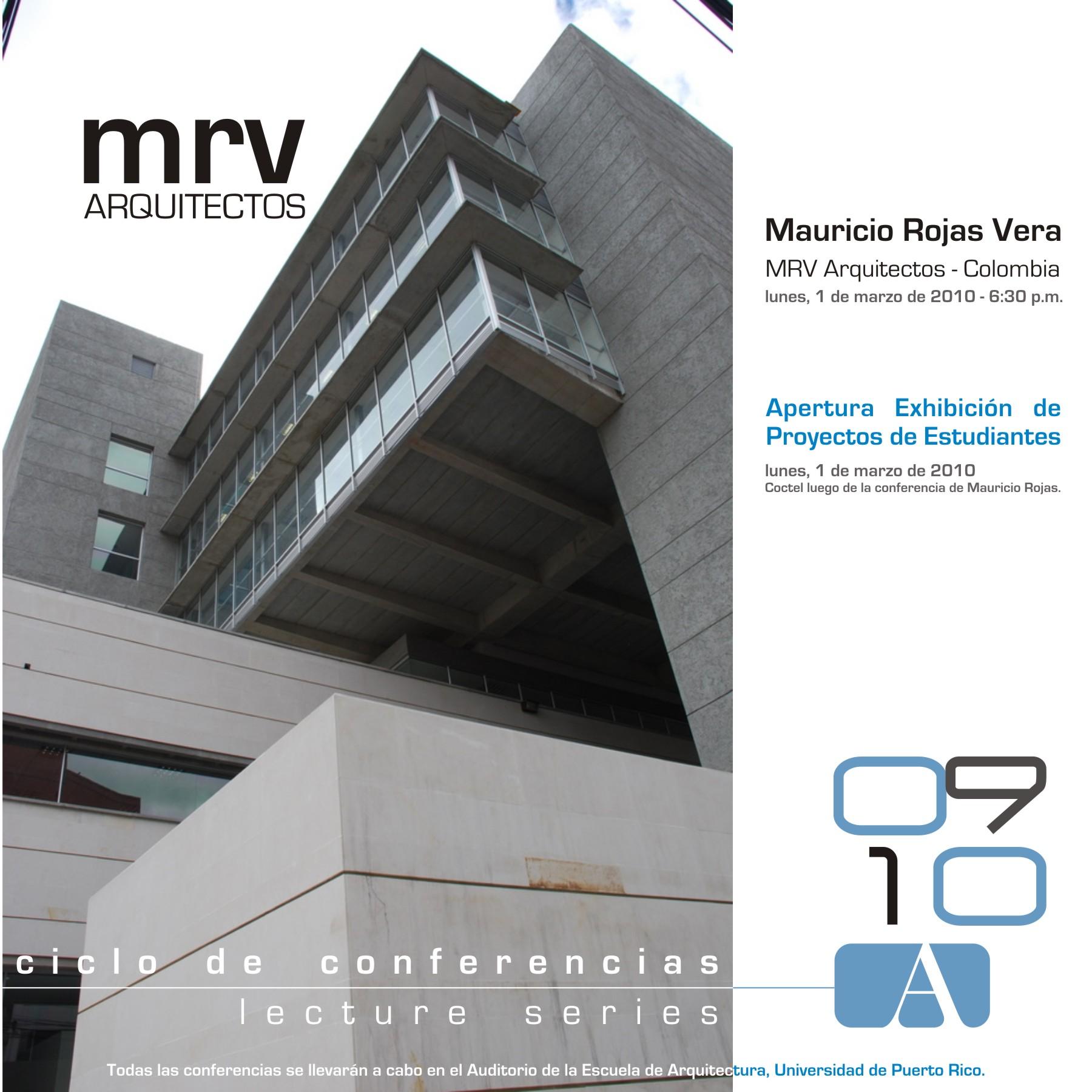 arquillano Conferencia UPR: Mauricio Rojas