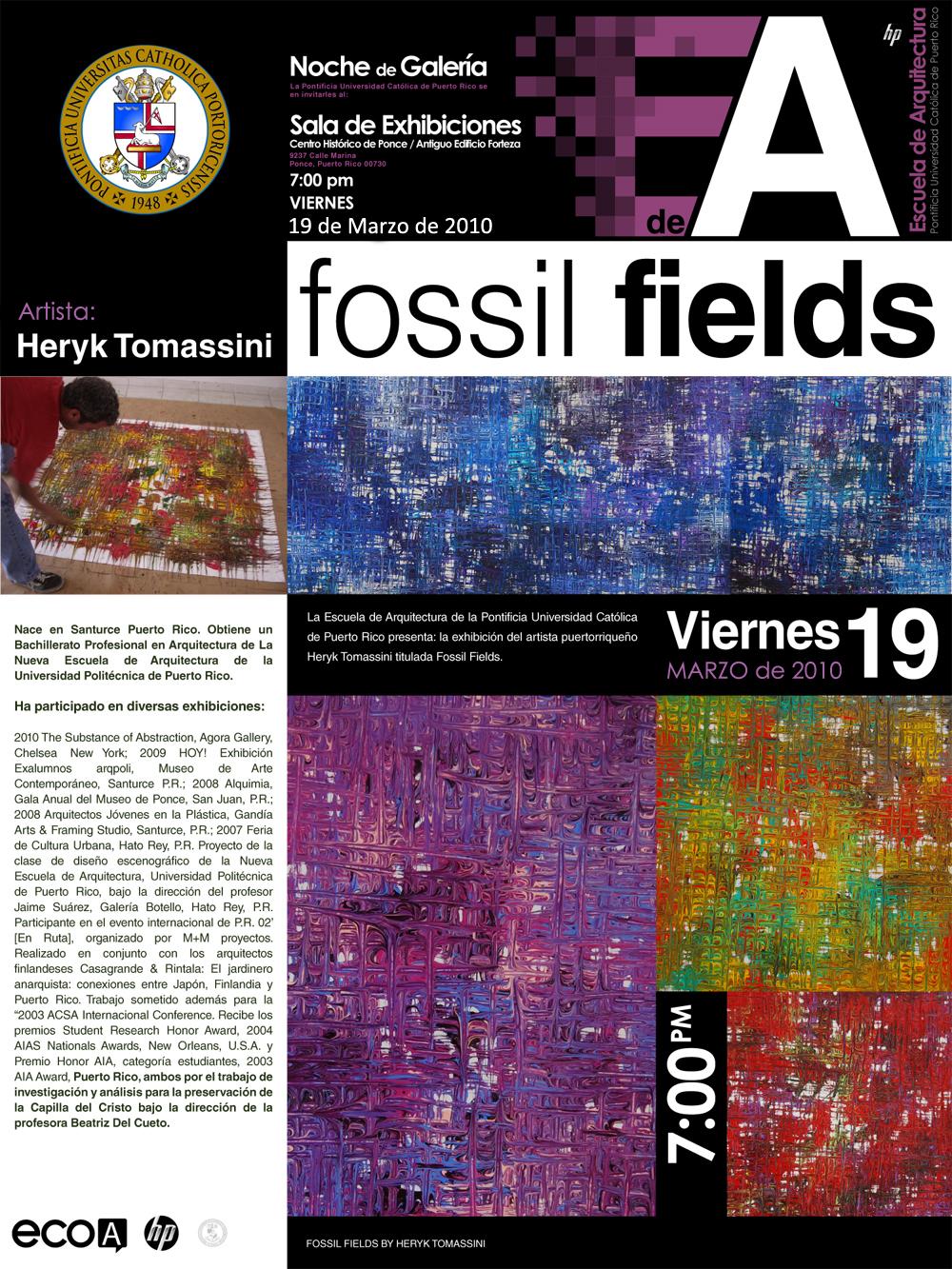 arquillano Noche de Galeria PUC: Heryk Tomassini