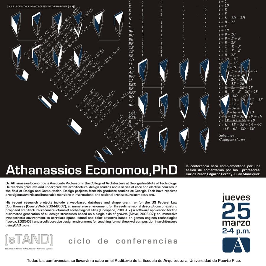 arquillano Conferencia UPR: Dr. Athanassios Economou