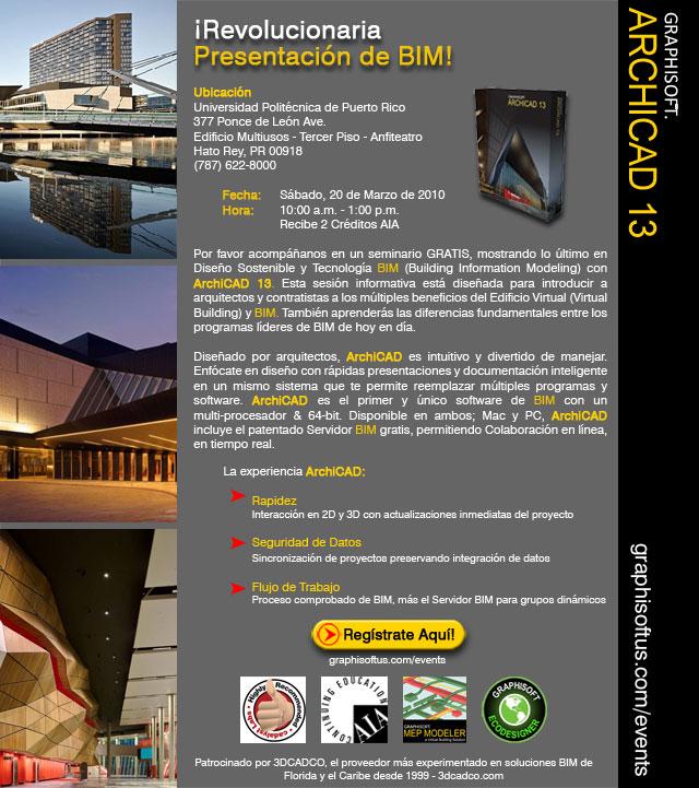 arquillano Seminario: BIM con ArchiCAD 13