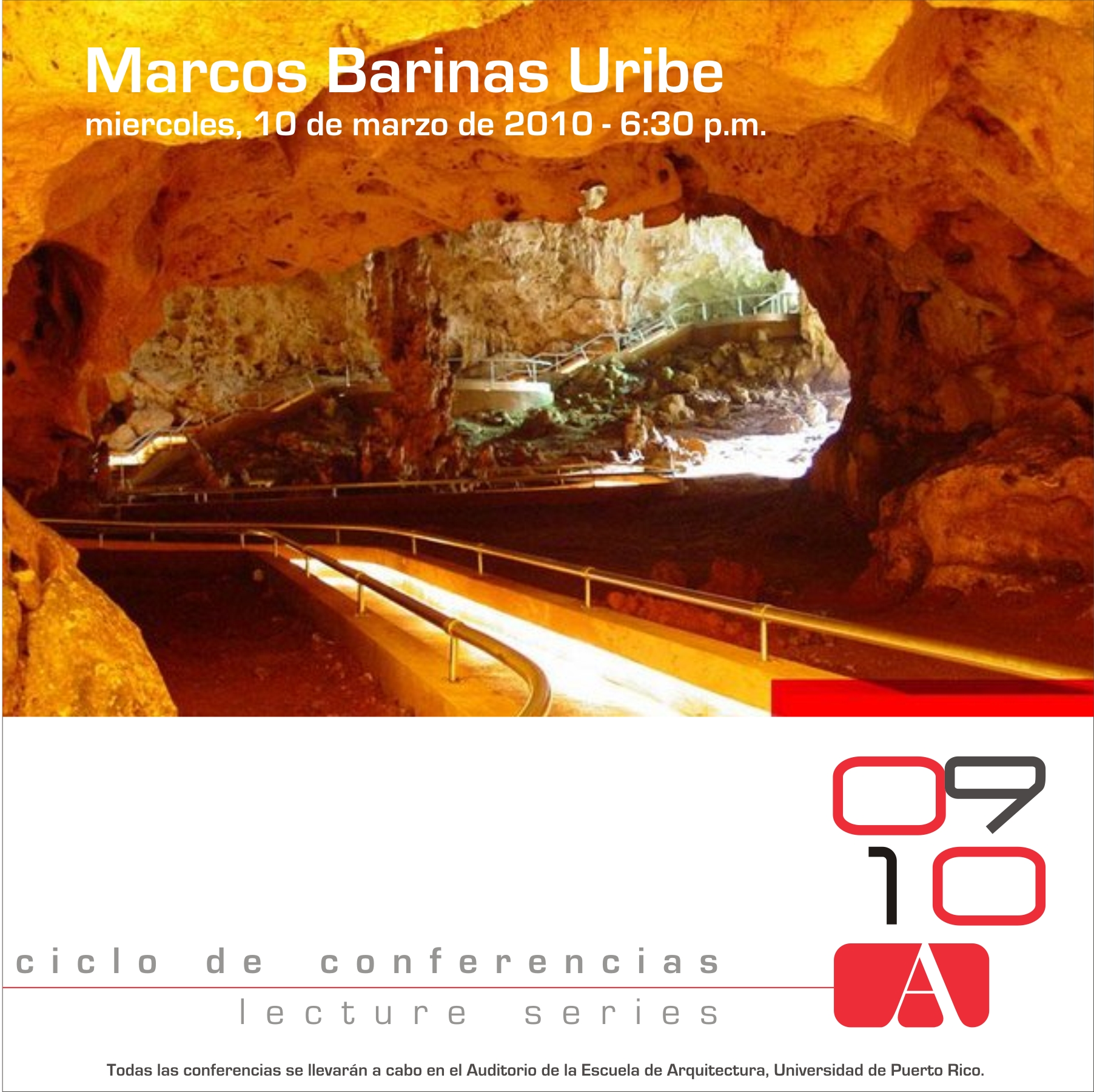 arquillano Conferencia UPR: Marcos Barinas Uribe