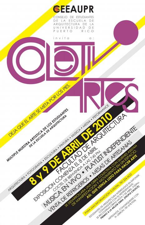arquillano Multiple Muestra Artistica de los Estudiantes de la Escuela de Arquitectura de la UPR