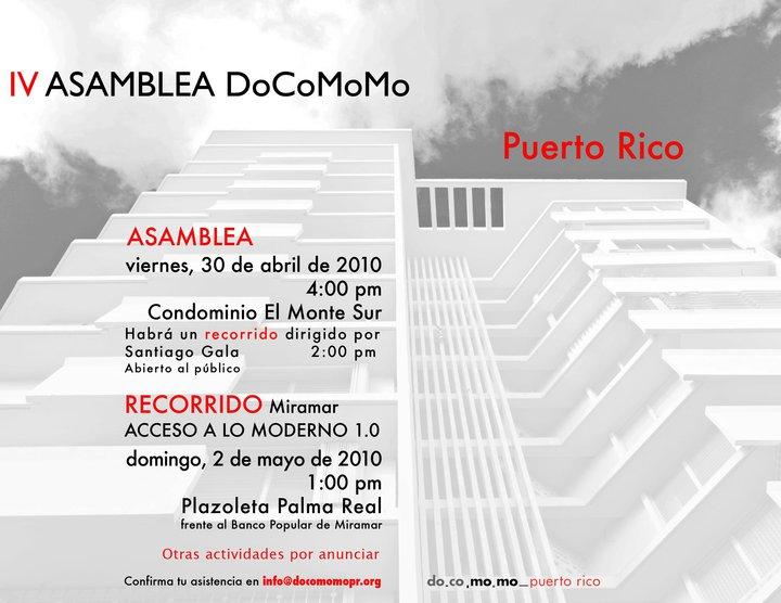 arquillano IV Asamblea DoCoMoMo Puerto Rico
