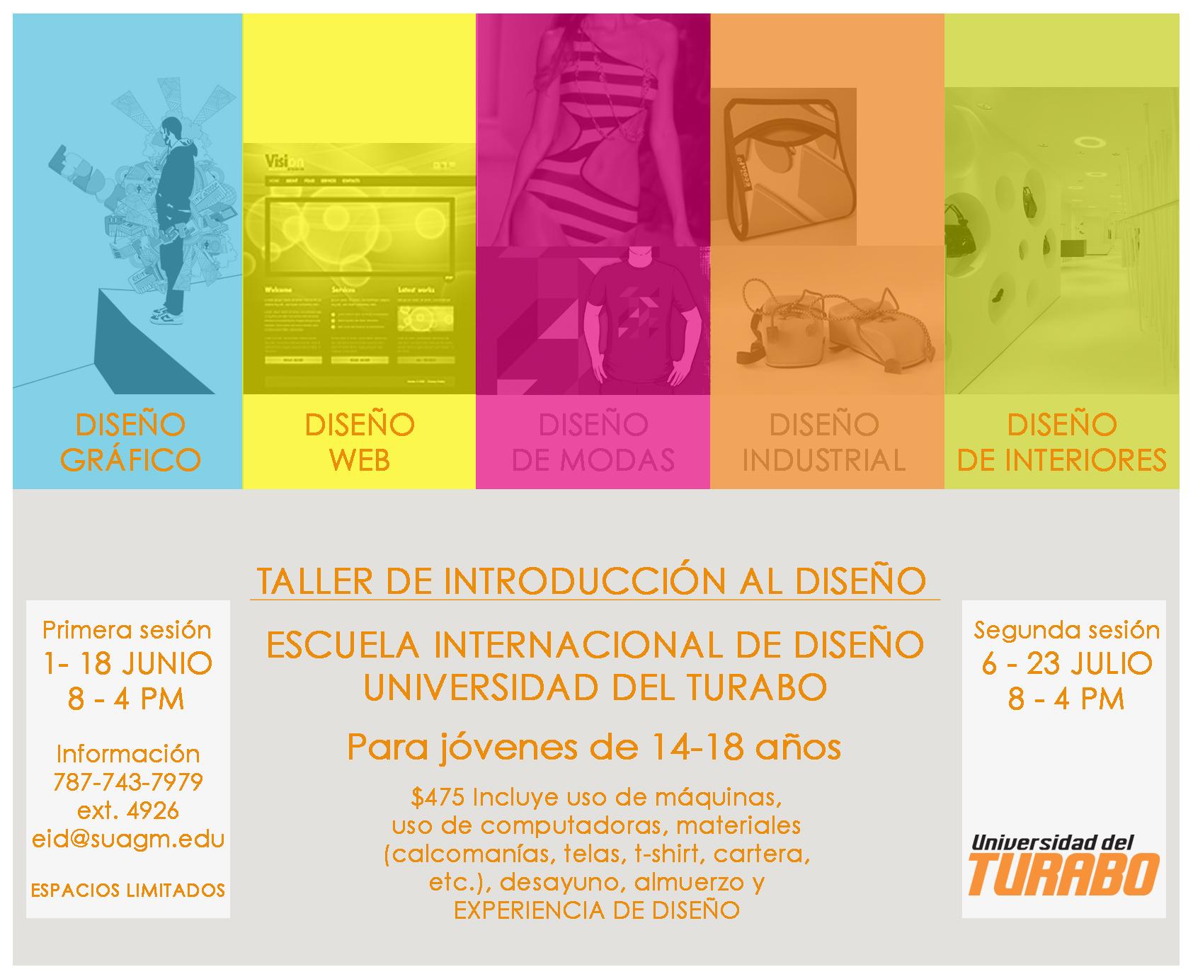 arquillano Taller de Introducción al Diseño: Escuela Internacional de Diseño