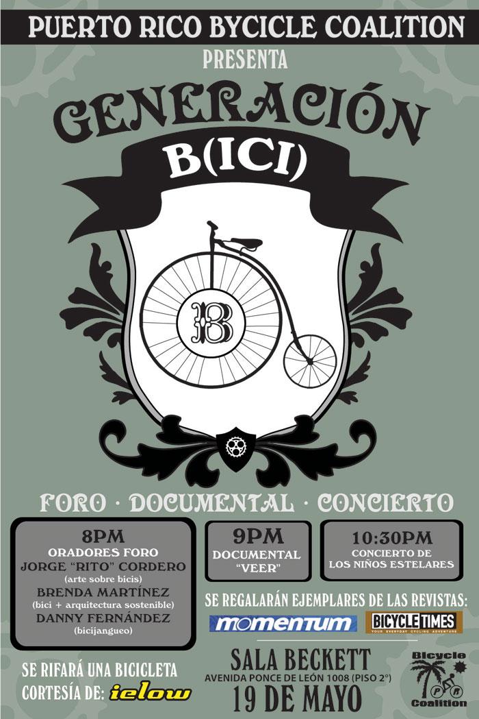 arquillano Generación B(ici): Foro, Documental y Concierto
