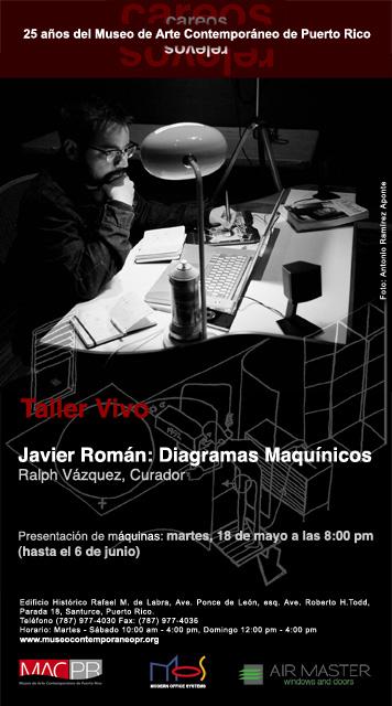 arquillano Javier Román: Diagramas Maquínicos