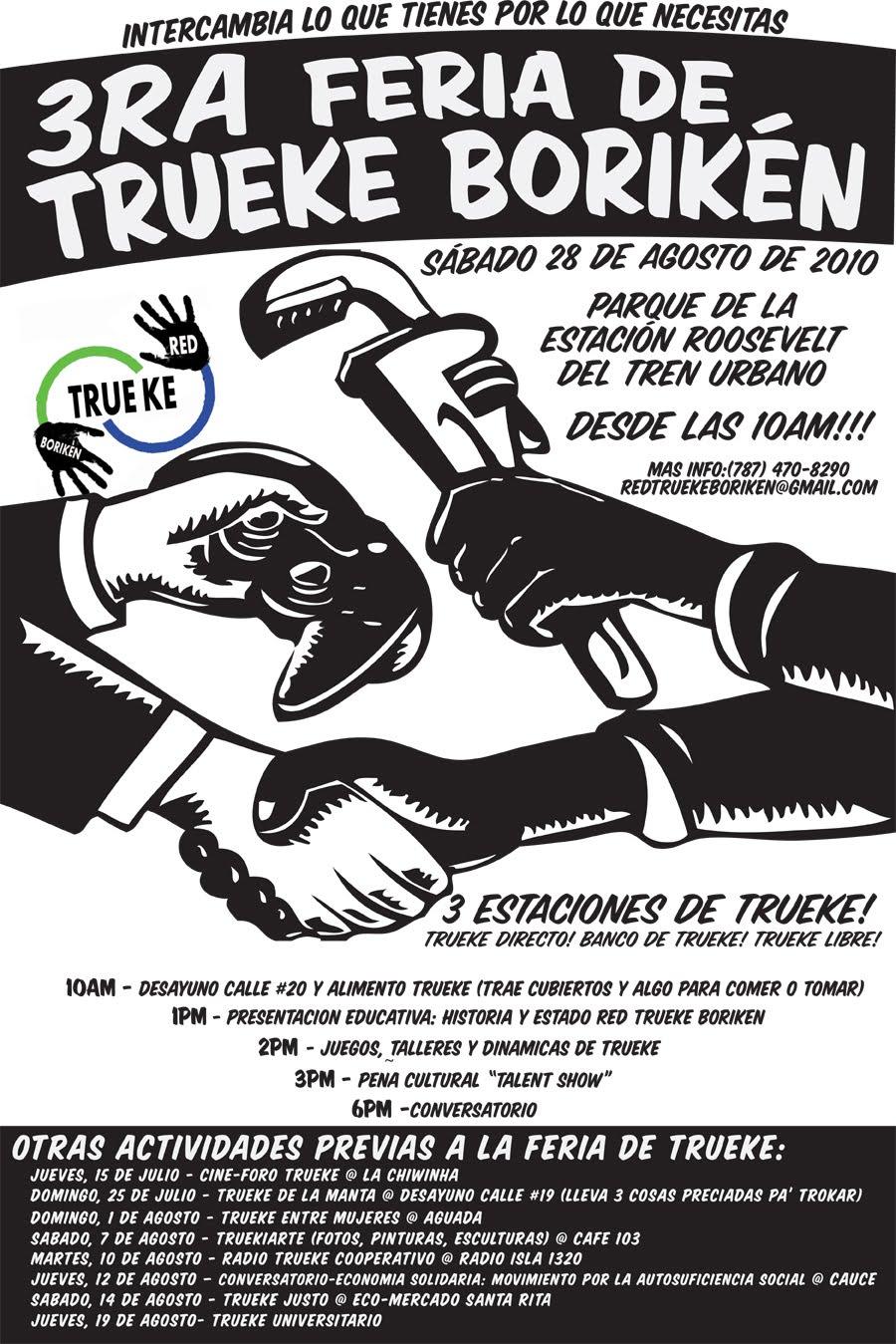 arquillano 3ra Feria de Trueke Borikén y Desayuno Calle #20