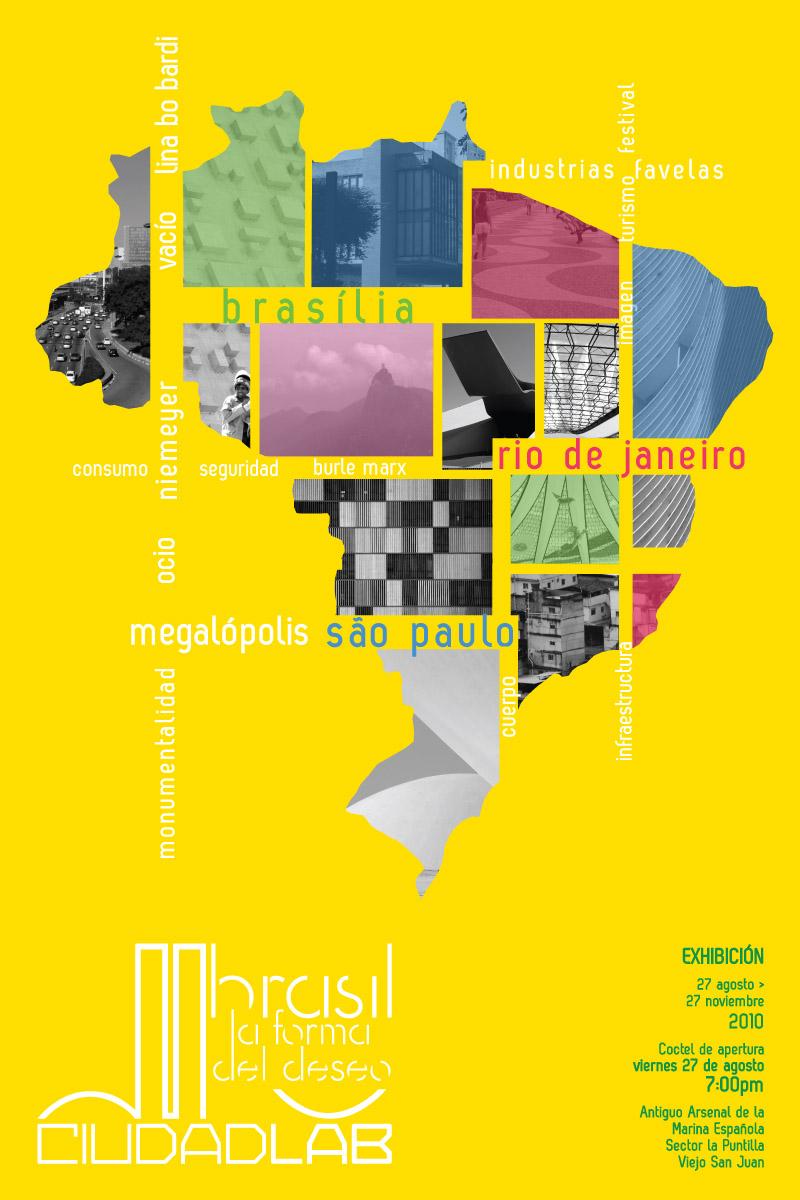 arquillano Exhibición Ciudadlab: Brasil la forma del deseo
