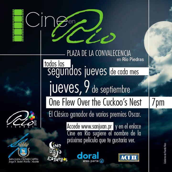 arquillano Cine en Río: One Flew Over the Cuckoos Nest