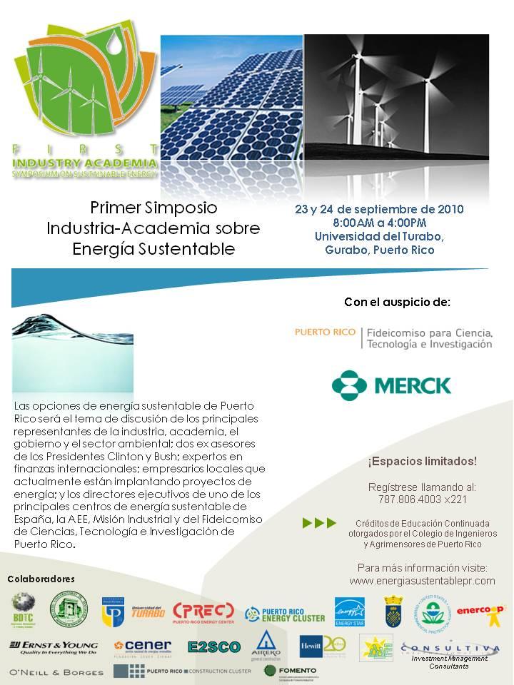 arquillano EVENTO DE LA SEMANA:1er Simposio Industria Academia sobre Energía Sustentable