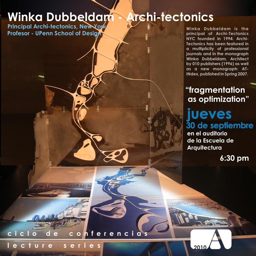 arquillano Conferencia UPR: Winka Dubbeldam Archi Tectonics