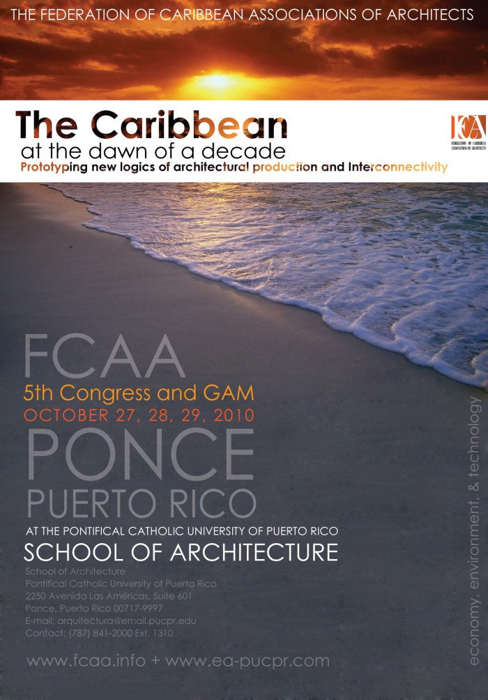 arquillano Congreso: Caribbean at the Dawn of a Decade / Protoyping New Logics for Architecture Production and Interconnectivity