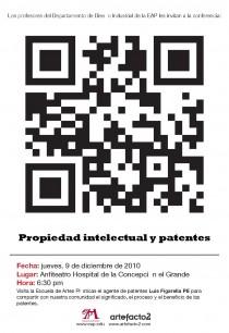 arquillano Conferencia EAP: Propiedad Intelectual y Patentes