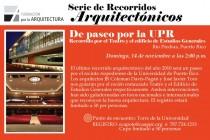 arquillano Recorrido Arquitectónico por la UPR   Río Piedras