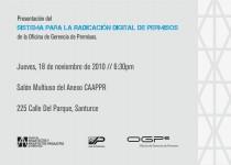 arquillano Conferencia CAAPPR: Sistema de Radicación Digital de Permisos