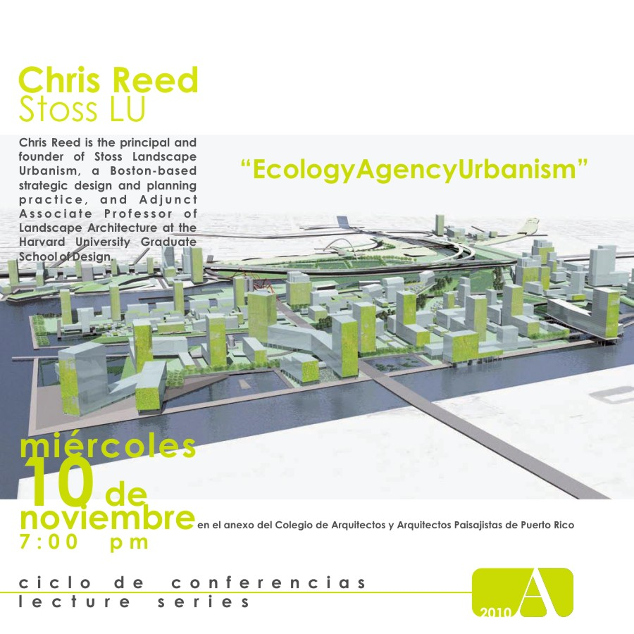 arquillano Conferencia: Chris Reed  EcologyAgencyUrbanism
