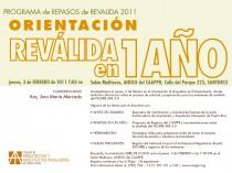 arquillano Programa de Repasos de Reválida 2011: Orientación Reválida en 1 año