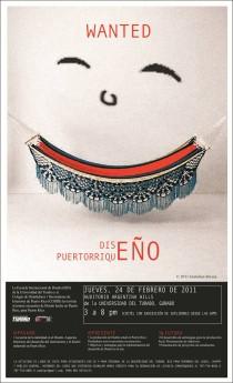 arquillano Wanted: Diseño Puertorriqueño