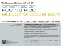 arquillano Seminario CAAPPR: Orientación Puerto Rico Building Code 2011