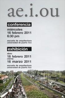 arquillano Conferencia y Exhibición UPR: ae.i.ou