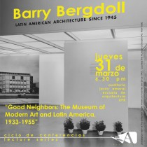 arquillano CAMBIO DE LUGAR   Conferencia UPR: Barry Bergdoll