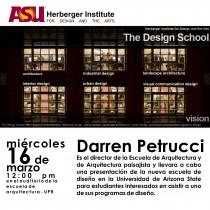 arquillano Conferencia UPR: Darren Petrucci