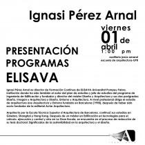 arquillano Conferencia UPR: Ignasi Pérez Arnal