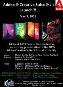 arquillano Adobe Creative Suite 5.5 Launch