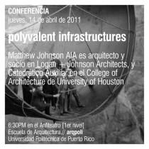 arquillano Conferencia ArqPoli: Matthew Johnson   Polyvalent Infrastructures