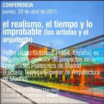 arquillano Conferencia ArqPoli: Pedro Urzáiz González
