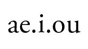 aeiou-180x100