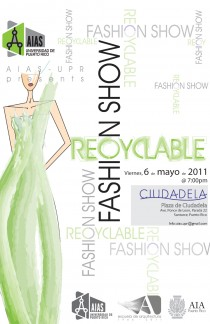 arquillano Recyclable Fashion Show: AIAS UPR
