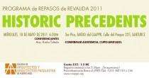arquillano Repaso de Reválida 2011: Historic Precedents