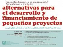 arquillano Alternativas para el desarrollo y financiamiento de pequeños proyectos