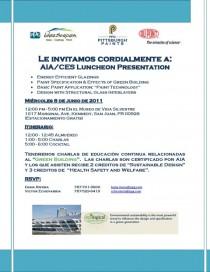 arquillano AIA/CES Luncheon Presentation