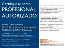 arquillano Curso Intensivo: Certificación de Profesional Autorizado