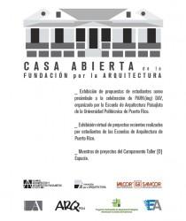 arquillano Casa Abierta de la Fundación por la Arquitectura