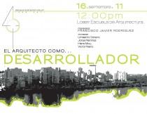 arquillano Conversatorio UPR: El Arquitecto como…Desarrollador