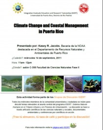arquillano Charla: Climate Change and Coastal Management in Puerto Rico   Kasey R. Jacobs