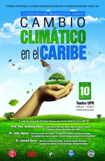 arquillano Conferencias Magistrales sobre Cambio Climático en el Caribe
