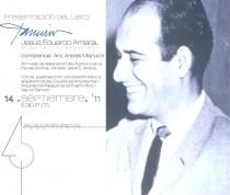 arquillano Presentación del libro   Jesús Eduardo Amaral: Arquitecto