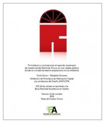 arquillano Exhibición: Reinhold + Escuela de Arquitectura PUCPR