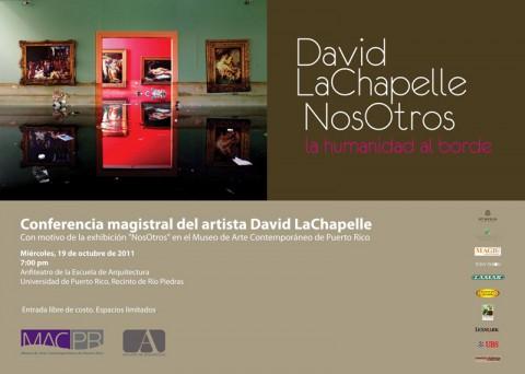 arquillano Conferencia UPR: David LaChapelle