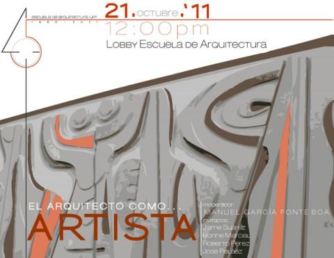arquillano Conversatorio UPR: El Arquitecto como…Artista