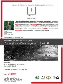 arquillano Conferencia PUCPR: Hacia el Desarrollo Inteligente: 10 principios y 100 estrategias para Puerto Rico