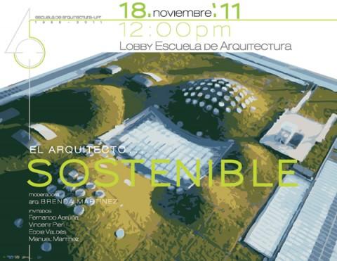arquillano Conversatorio UPR: El Arquitecto Sostenible